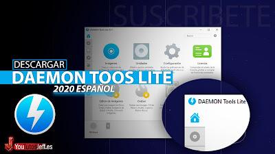 Como Descargar Daemon Tools Lite 2020 Ultima Versión Español, 32 y 64 Bits