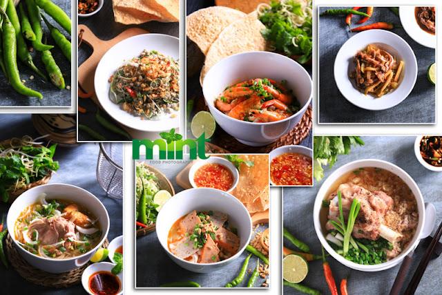 Chụp ảnh menu món ăn nhà hàng Đà Nẵng - Hội An