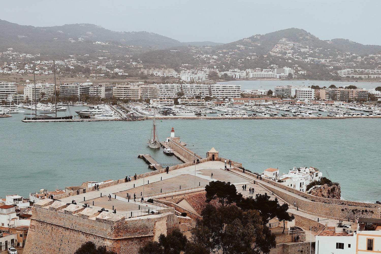 Port w Ibizie