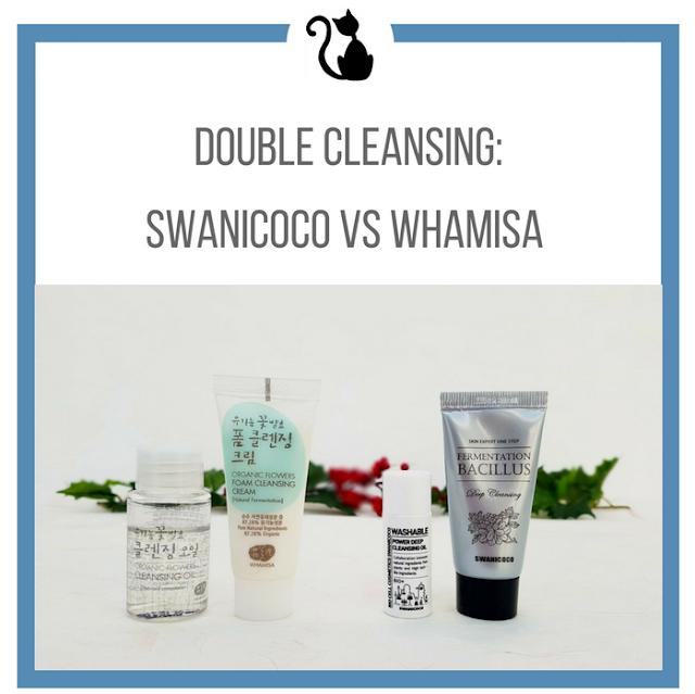 Porównanie zestawów do double cleansing: Swanicoco vs Whamisa