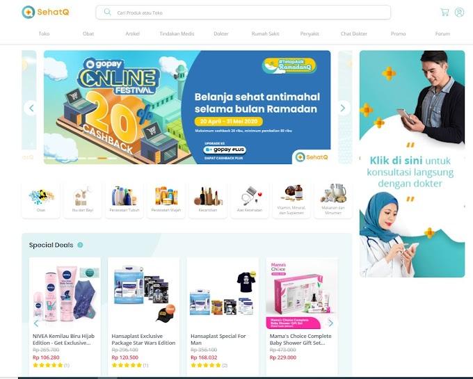 Toko Kesehatan di SehatQ.com