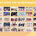 [Poll] Monthly k-pop top 10 groups(October)