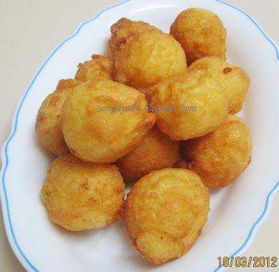 My Kuali: Bebola ubi kayu goreng