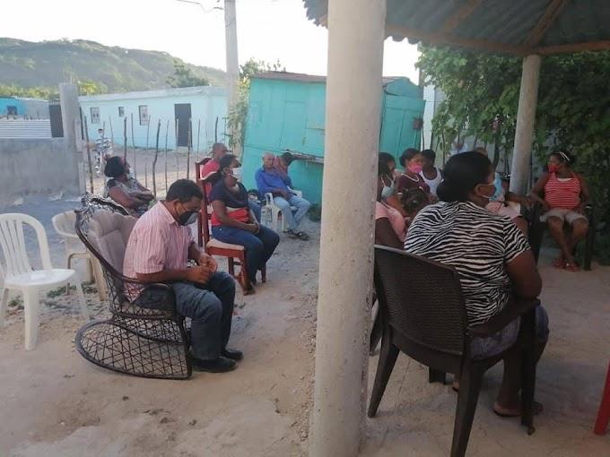 INAPA plancha a la Junta de Vecinos de los Guandules.