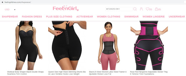 The Best Shapewear Bodysuit and Waist Trainer from Feelingirldress
