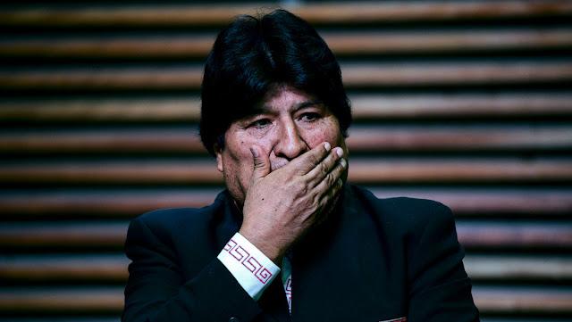 Evo Morales denuncia un asedio a la Embajada de México en Bolivia