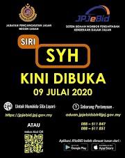 Bidaan No Pendaftaran Kenderaan Dalam Talian Bagi Negeri Sabah SYH