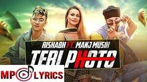 Teri Photo Lyrics – Rishabh ft Manj Musik