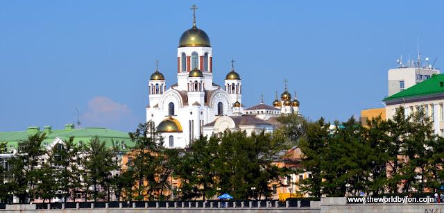 Igreja do Sangue, construída no local do de assassinato da Família Romanov