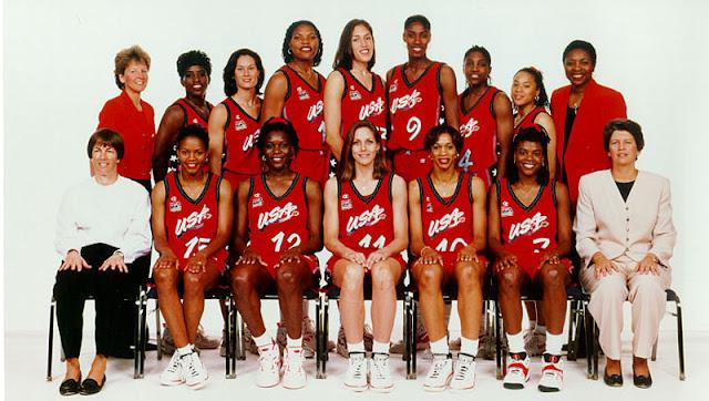 Basquete feminino EUA Atlanta 1996