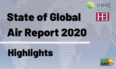 State of Global Air Report 2020: Highlights