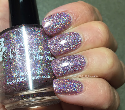 KBShimmer Mega Flame Collection, Spring 2016; Things That Make You Go Bloom