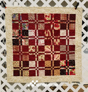 Lickety-Split quilt one from Charm School