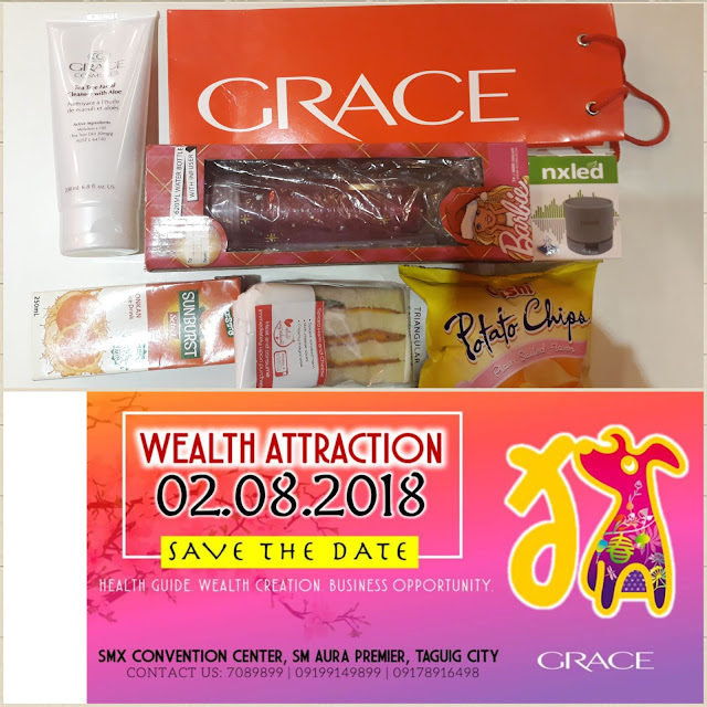grace cosmetics wealth attraction 2018
