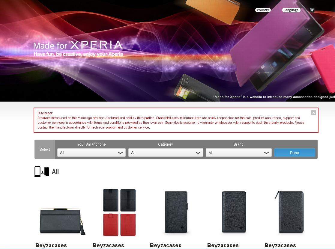 Made for Xperia', Aksesoris Lengkap Sony Xperia Ada Disini