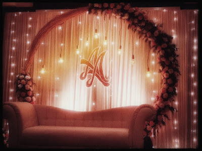 Marriage Stage Decoration for Engagement