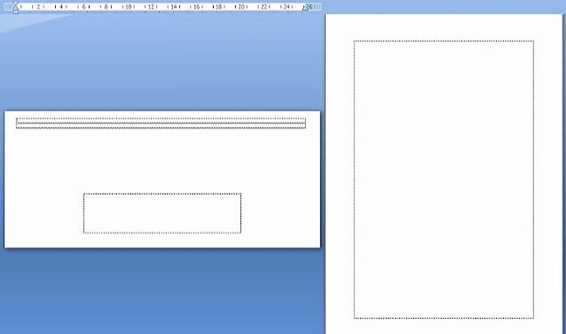 Cara Print Kop Surat Amplop di Microsoft Word 2007,2010,2013 dan 2016