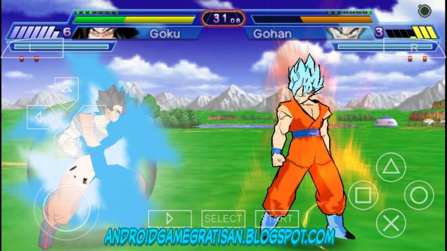Dragon Ball Z Shin Budokai 2 mod (Super Saiyan Blue)