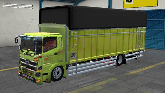 Mod Truck Hino 500 C1 Sumatera Style