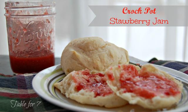 Crock Pot Strawberry Jam