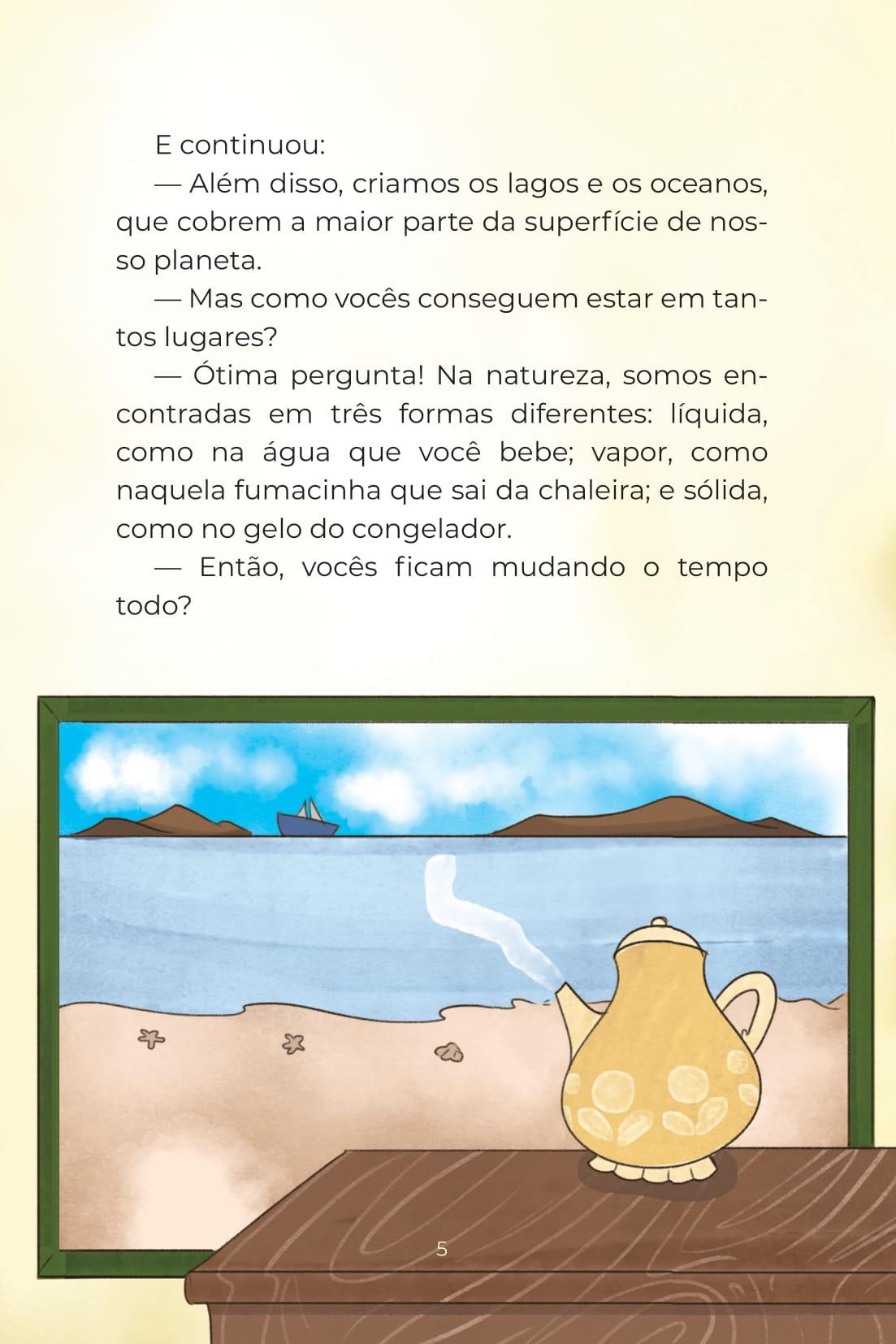 Livro Água (Conta Pra Mim); Baixar PDF Grátis