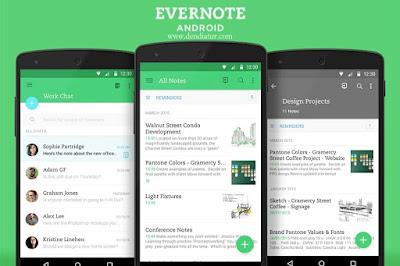 Aplikasi yang wajib kamu miliki - evernote
