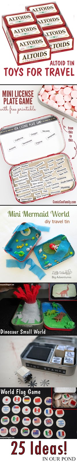 25 Altoid Tin Toys for Travel from In Our Pond