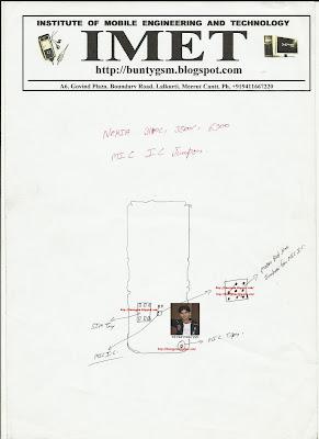 Nokia 3110c, 6300c, 3500c MIC IC Jumper By Buntygsm / IMET