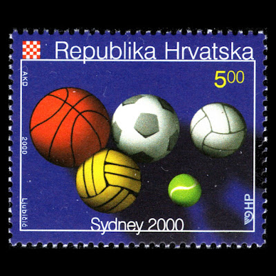 Croatia 2000 - Summer Olympic Games Sydney Sports