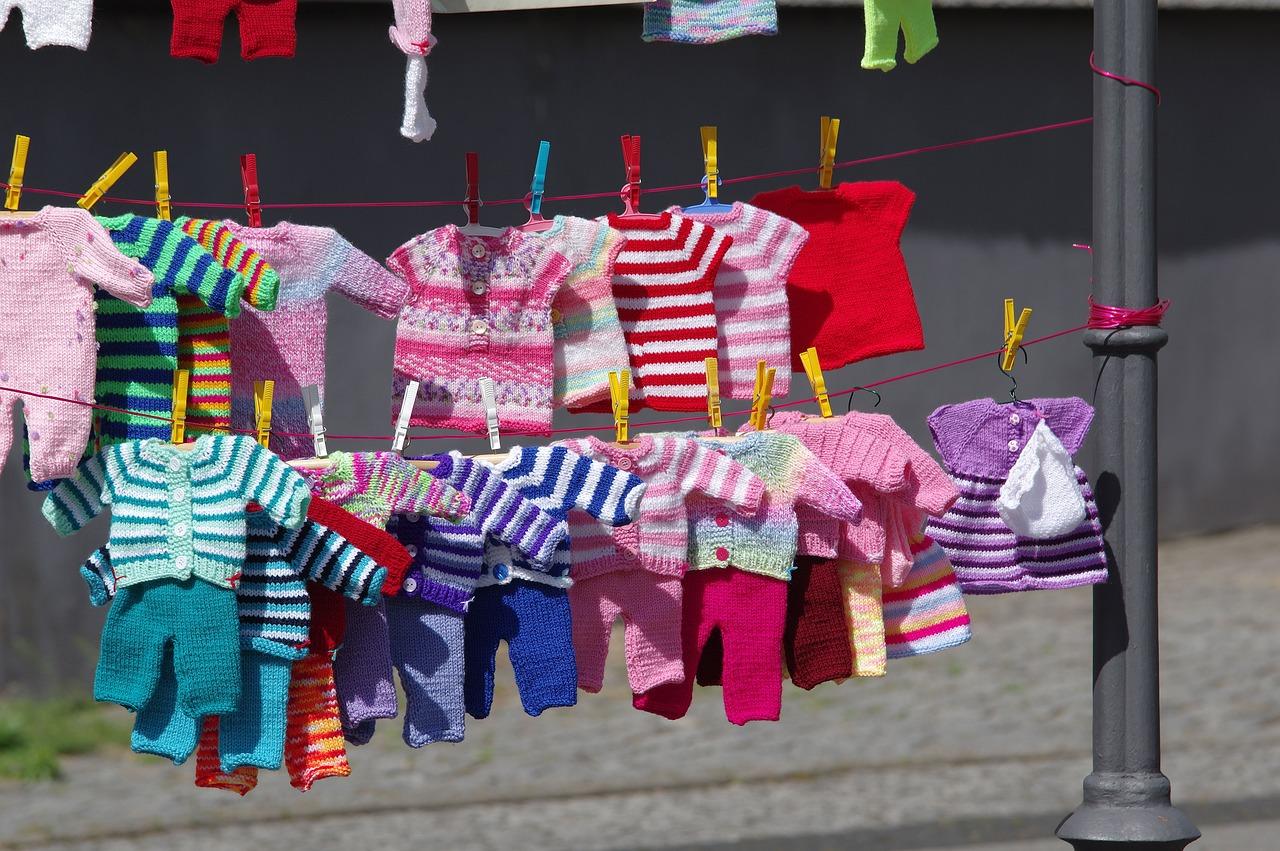 Ubrania dla niemowląt - poradnik dla opornych