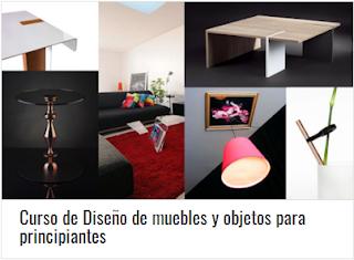 Curso de Diseño de muebles y objetos para principiantes