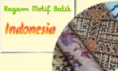 Motif batik, batik siger Lampung, batik nusantara