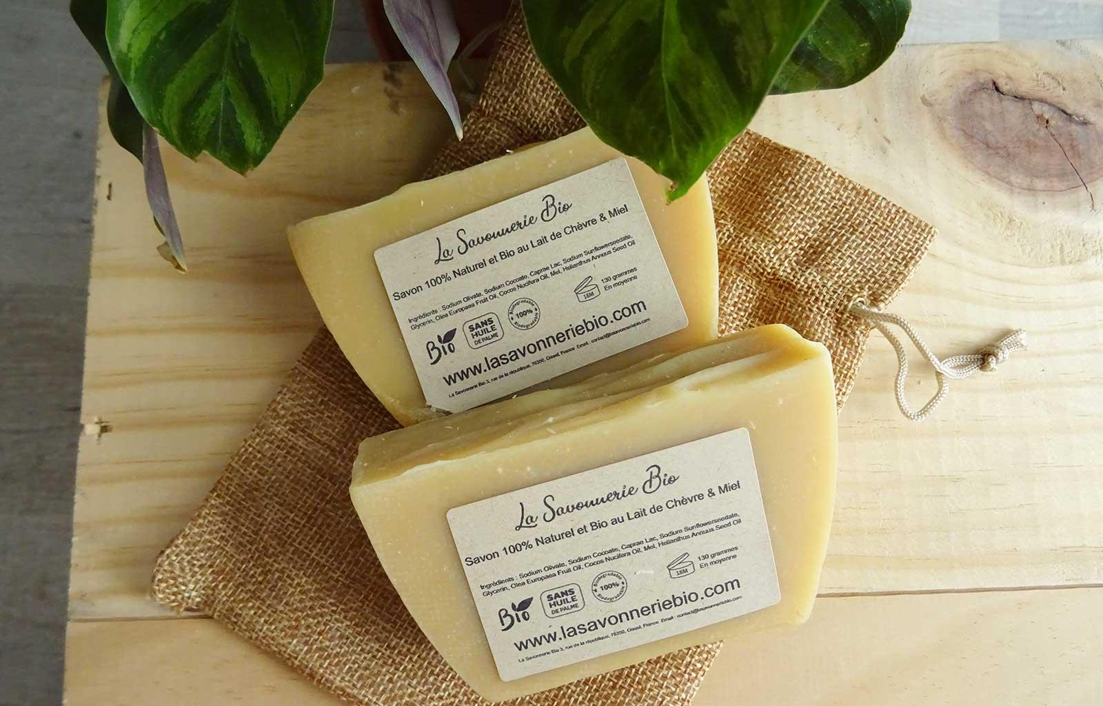 Savons et shampoings solides La Savonnerie bio