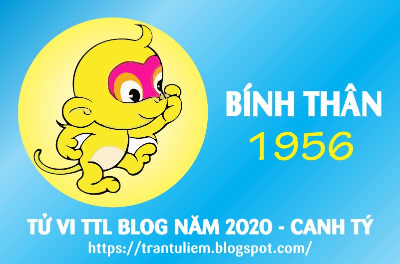 TỬ VI TUỔI BÍNH THÂN 1956 NĂM 2020