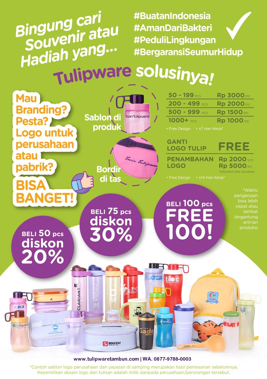 Promo Tulipware Corporate