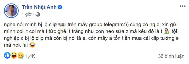 Bức xúc vì bị phao tin lộ clip nóng hot girl Việt đăng đàn phủ nhận với bằng chứng khó chối cãi