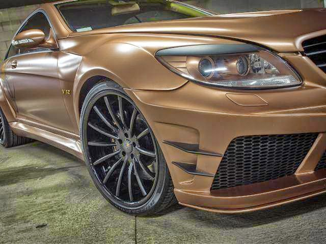 mercedes cl 65 amg brown