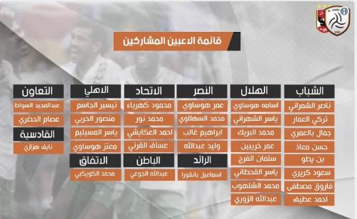 ننشر قائمة نجوم المنتخب السعودي أمام الأهلي المصري اليوم الجمعة 2 فبراير 2018 القنوات الناقلة لمباراة الاهلي ونجوم منتخب السعودية الودية