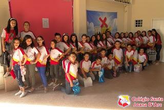 CSJD realiza aula da saudade com as turmas do Infantil III e 5º Ano...