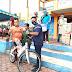 Hadiri Kegiatan Jalan Santai, Wabup Lingga Himbau Peserta Menerapkan Protokol Kesehatan
