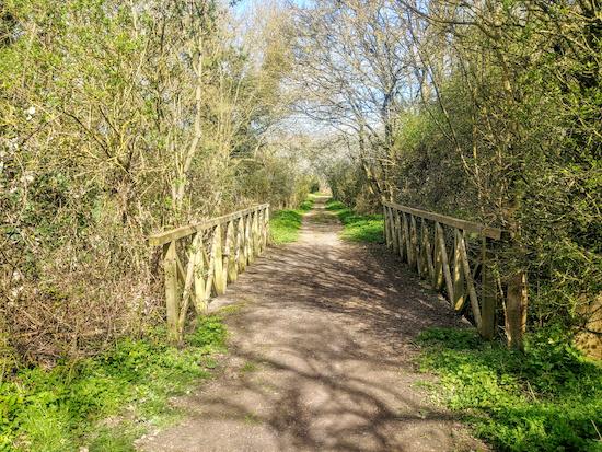 A bridge along Clothall BOAT 12 / Weston BOAT 39