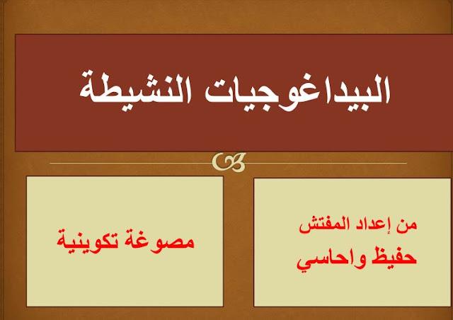 مصوغة تكوينية جامعة للبيداغوجيات الوظيفية المعتمدة بالمناهج المغربية
