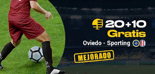 bwin promocion Oviedo vs Sporting 17 noviembre 2019