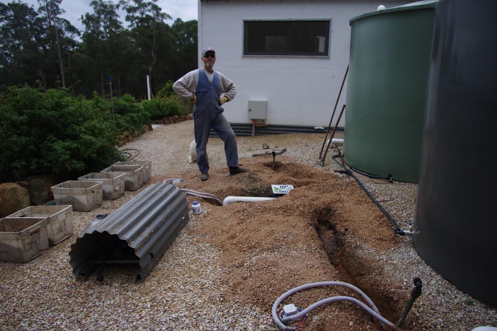Repairing pumps and plumbing