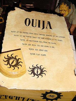 Regole della tavola Ouija del 20° secolo.