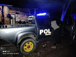 Pelihara Sitkamtibmas Agar Tetap Kondusif,Personil Polsek Curio Intensifkan Patroli Blue Light