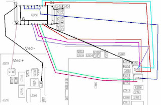 Solusi layar lcd putih Nokia E63