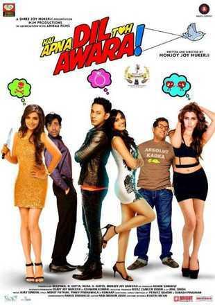 Hai Apna Dil Toh Awara 2016 Full Hindi Movie Download HDRip 720p