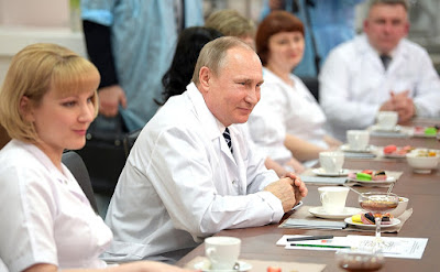 Vladimir Putin, Stuff of the perinatal medical centre.