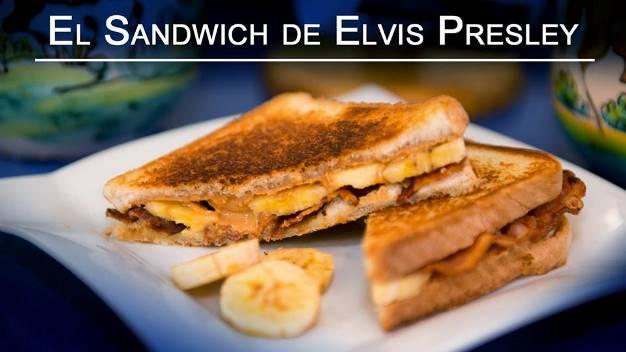 Sándwich de crema de cacahuete (el de Elvis Presley)